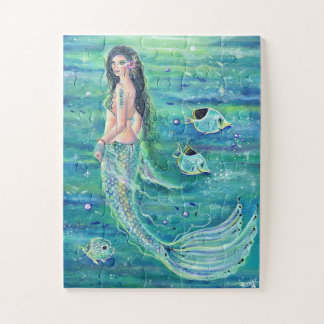 Renee著angelfishのパズルを持つAndrinaの人魚 ジグソーパズル