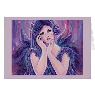 Renee Lavoie著Emmanuelleの天使の挨拶状 カード