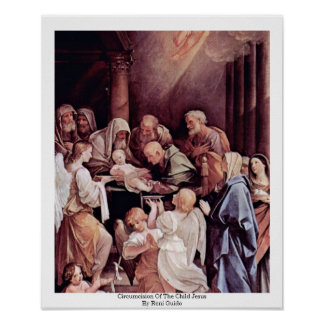 Reniギド著子供イエス・キリストの割礼 ポスター