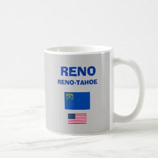 Reno-Tahoe* RNO空港コードマグ コーヒーマグカップ