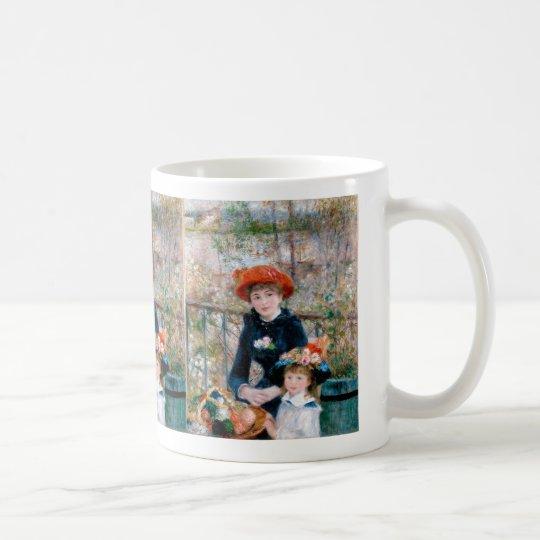 "Renoir , 二人の姉妹 , "" The Two Sisters "" コーヒーマグカップ"