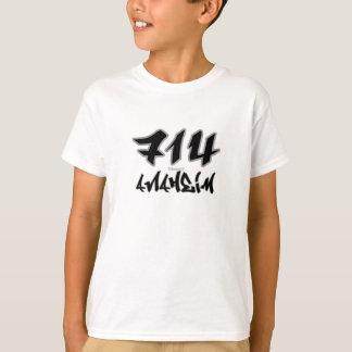 Repアナハイム(714) Tシャツ