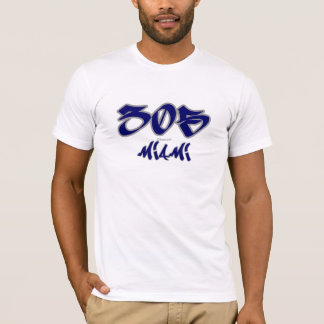 Repマイアミ(305) Tシャツ