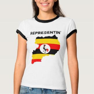 Representinウガンダ Tシャツ