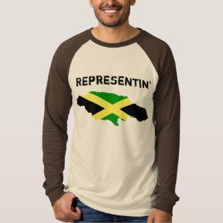 Representinジャマイカ Tシャツ
