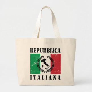 Repubblica Italiana ラージトートバッグ