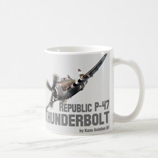 Republic P-47 Thunderbolt サンダーボルト コーヒーマグカップ