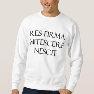 Res Firma Mitescere Nescitのスエットシャツ スウェットシャツ
