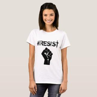 """#Resistの""""アンチ切札""""の政治ボタン Tシャツ"""