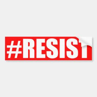 #RESIST バンパーステッカー