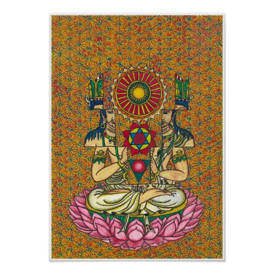 resolved buddha ポスター
