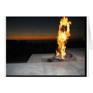restauant近いのの火サンディエゴのビーチ カード
