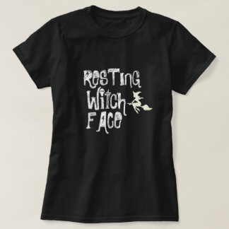 RESTING WITCH FACE Tシャツ
