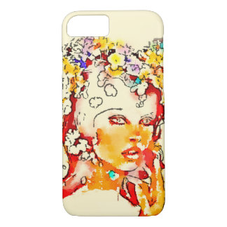 Retro 60s Babe Iphone Case iPhone 8/7ケース