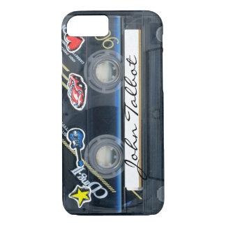 Retro 80s T3 Cassette Audiotape iPhone Case iPhone 8/7ケース
