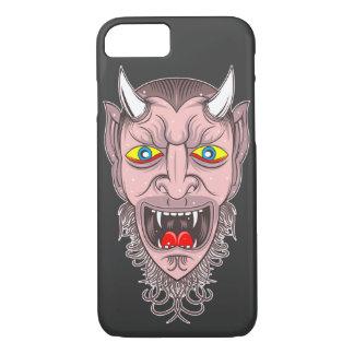 Retro Devil Illustration iPhone 8/7ケース