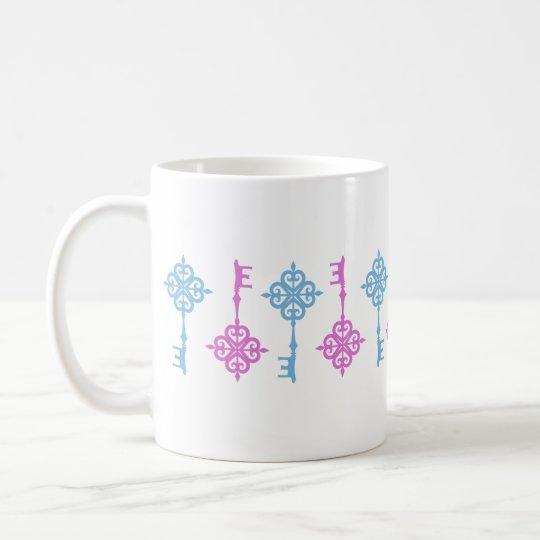 Retro Key Mug コーヒーマグカップ