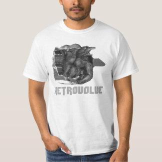 Retrovolveの狼人間の価値ティー Tシャツ