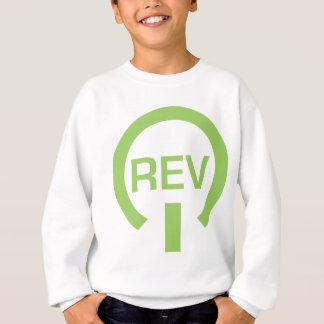 REVのグラフィック スウェットシャツ