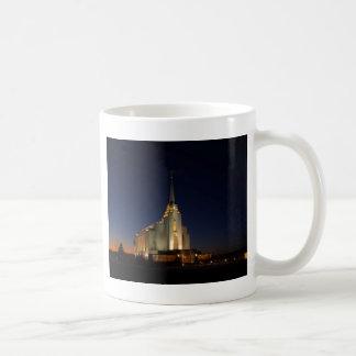 Rexburg LDSの寺院 コーヒーマグカップ