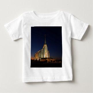 Rexburg LDSの寺院 ベビーTシャツ