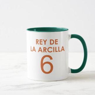 REY DE LA ARCILLA 6 マグカップ