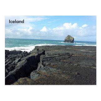 Reykjanes、アイスランド ポストカード