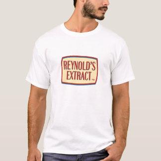 Reynoldのエキスのロゴ Tシャツ