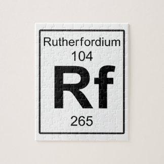 Rf -ラザホージウム ジグソーパズル