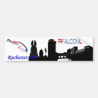 Rfalconcamの都市景観のバンパーステッカー バンパーステッカー