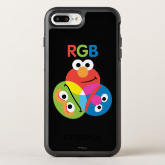 RGBのセサミストリート オッターボックスシンメトリーiPhone 8 PLUS/7 PLUSケース