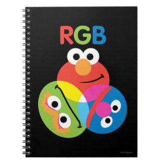 RGBのセサミストリート ノートブック
