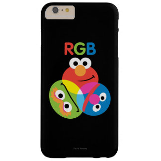 RGBのセサミストリート BARELY THERE iPhone 6 PLUS ケース