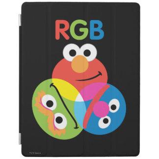 RGBのセサミストリート iPadスマートカバー