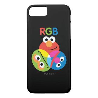 RGBのセサミストリート iPhone 8/7ケース