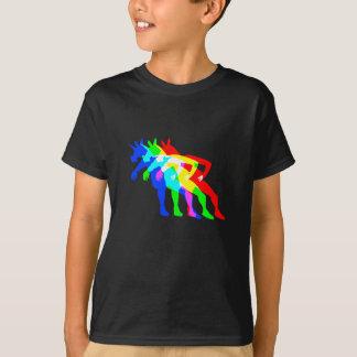 RGBのユニコーンV02 Tシャツ