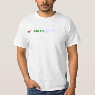 RGBの付加のTシャツ Tシャツ