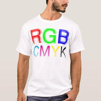 RGB CMYK Tシャツ