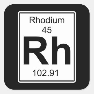 RH -ロジウム スクエアシール