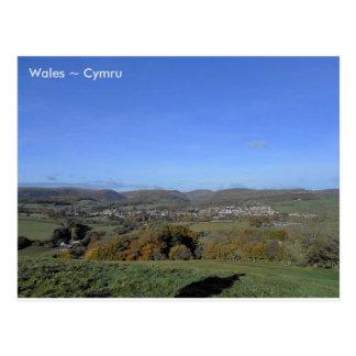 Rhayader、ウェールズ ポストカード