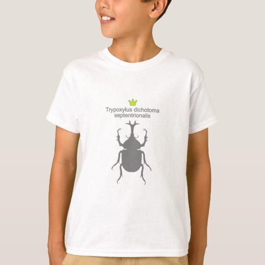 rhinoceros beetle tシャツ