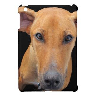 Rhodesianかわいく、愛らしいRidgeback犬 iPad Miniケース