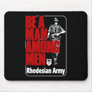 Rhodesianの軍隊ポスター マウスパッド