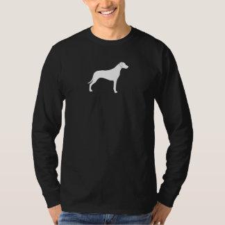 Rhodesian Ridgebackのシルエット Tシャツ