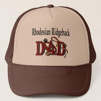 Rhodesian Ridgebackのパパのギフト キャップ