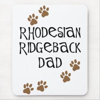 Rhodesian Ridgebackのパパ マウスパッド