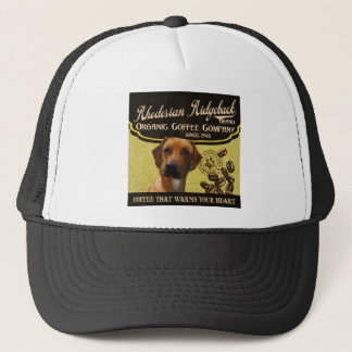 Rhodesian Ridgebackのブランド- Organic Coffee Company キャップ