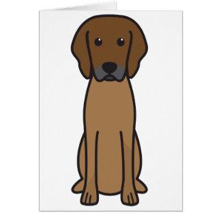 Rhodesian Ridgeback犬の漫画 カード