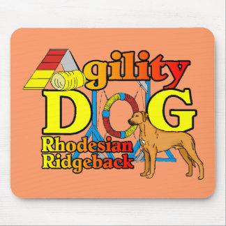Rhodesian_Ridgeback_Agility マウスパッド