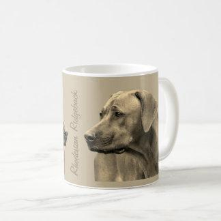 Rhodesian Ridgeback Koffie Mok コーヒーマグカップ
